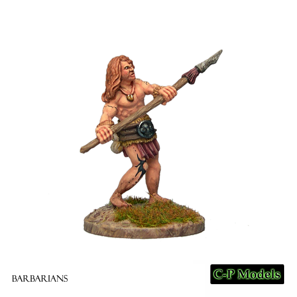 Barbarian with Spear 1