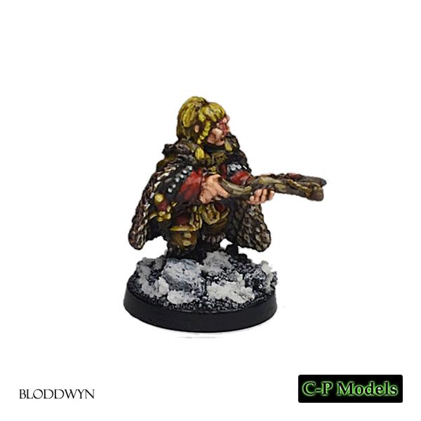 Bloddwyn female barbarian