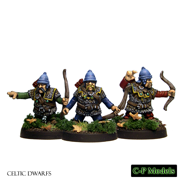 Celtic Dwarf armoured archers