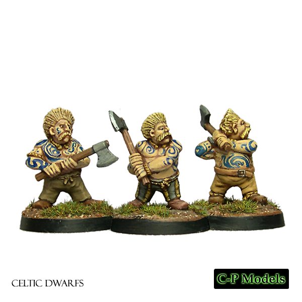 Celtic Dwarfs with axes