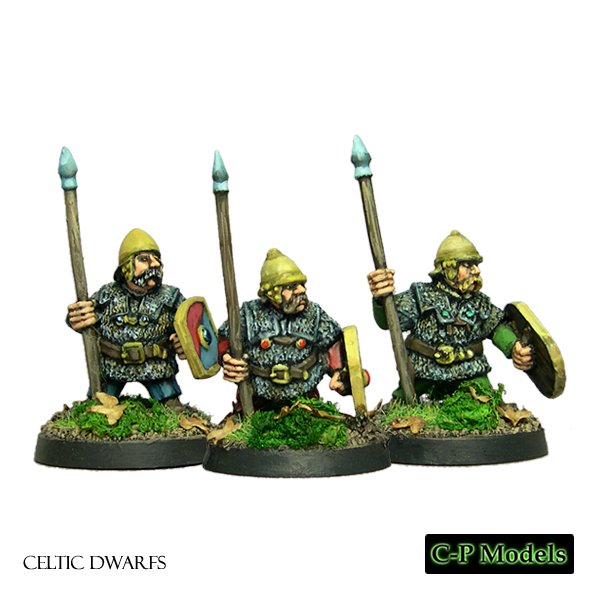 Celtic Dwarfs with spears