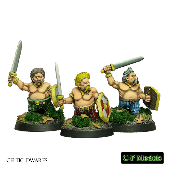 Celtic Dwarfs with swords