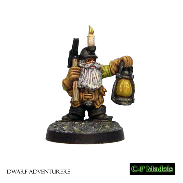Dara Dwarf adventurer with lamp 2