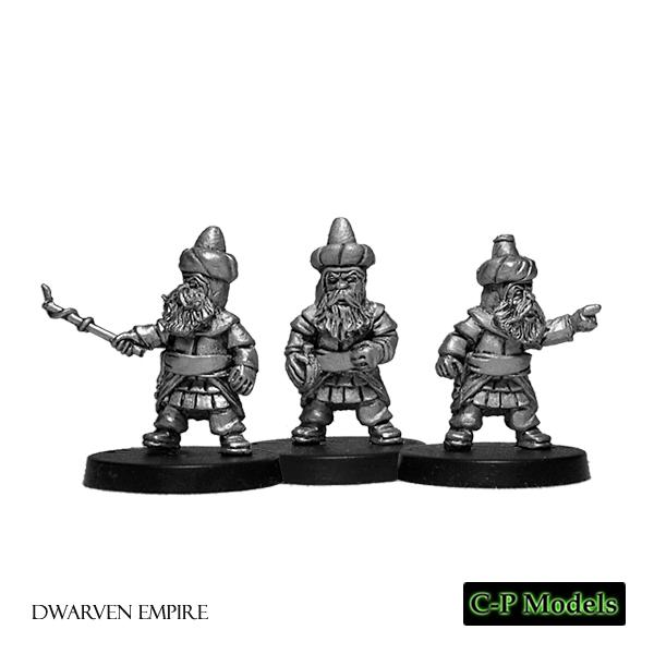 Dwarf artillery team