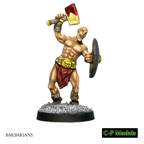 Haldor The Tall, Barbarian Hero 1