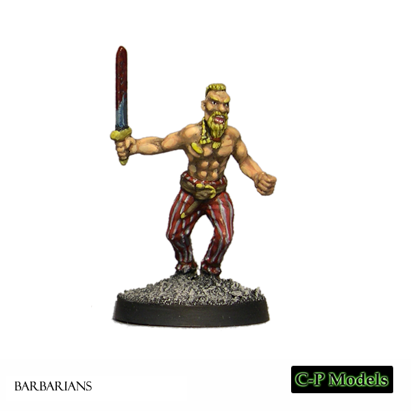 Ivar barbarian with sword