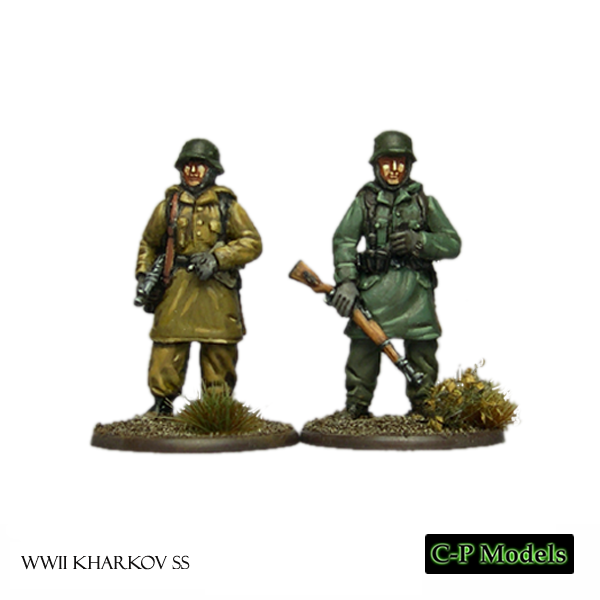 Kharkov SS NCO and grenadier