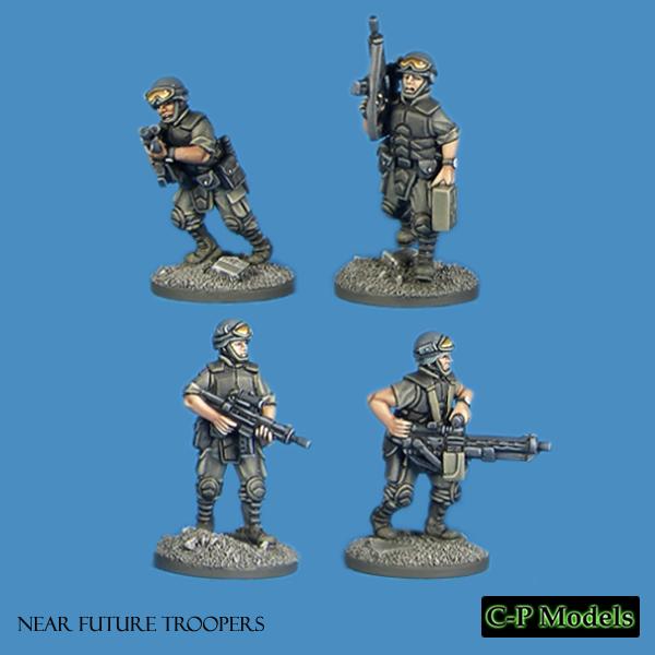 Near future troopers 4