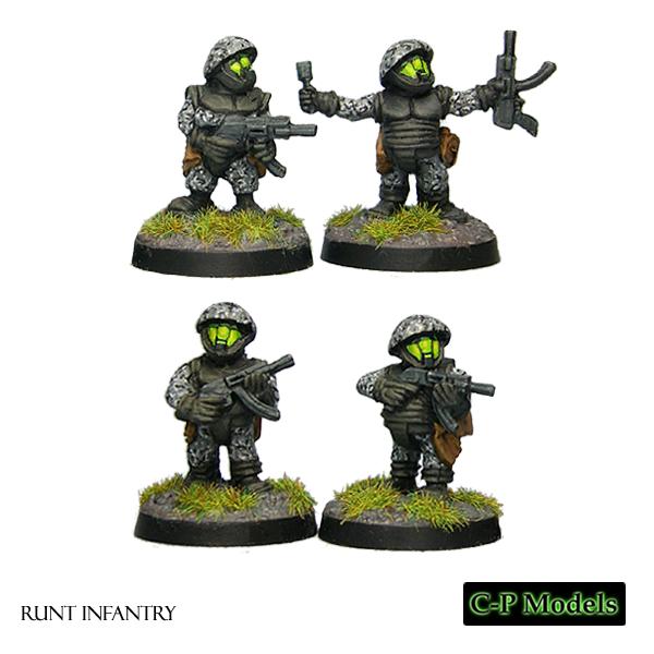 Runt infantry
