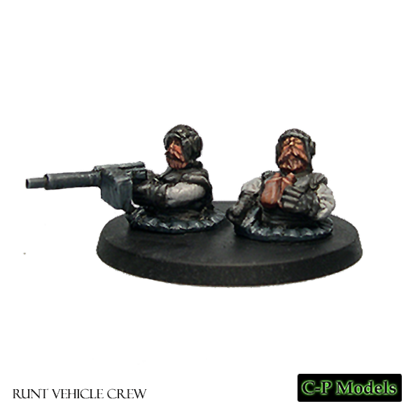 Runt vehicle crew