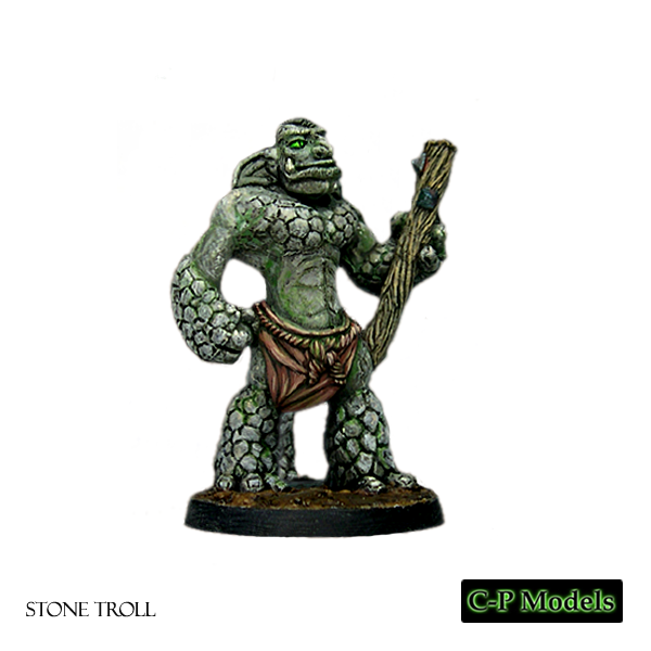 Stone troll advancing