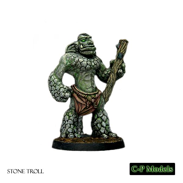 Stone troll advancing