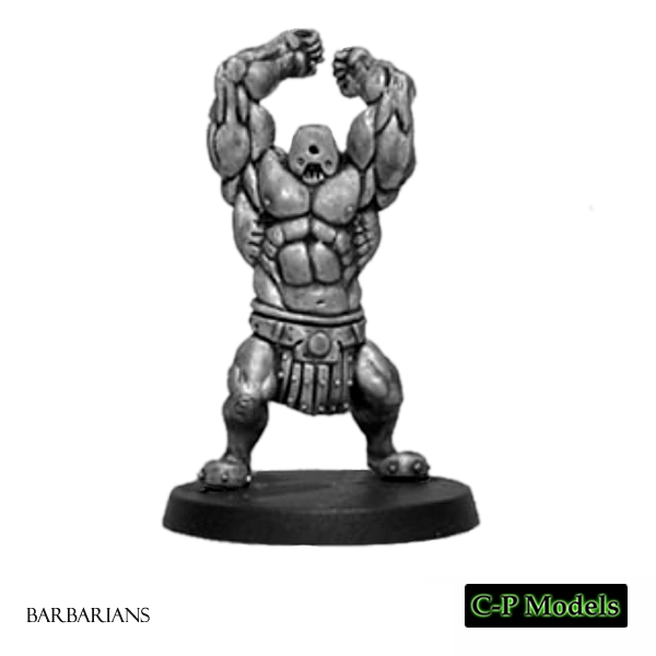 The Golem - Barbarian Hero 1
