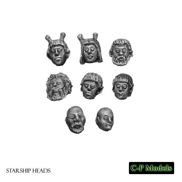 Starship heads 2