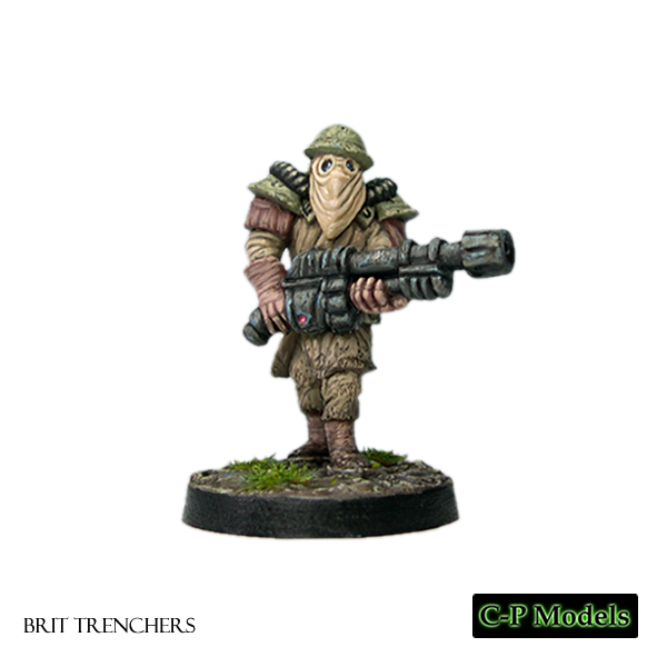 Brit trencher heavy weapon