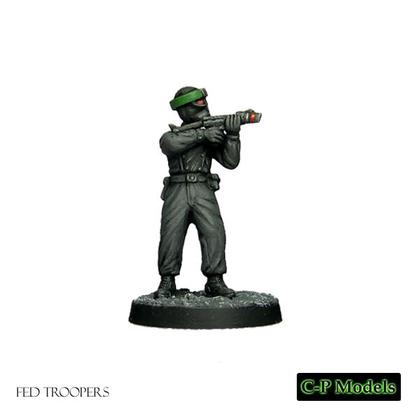 Fed troopers