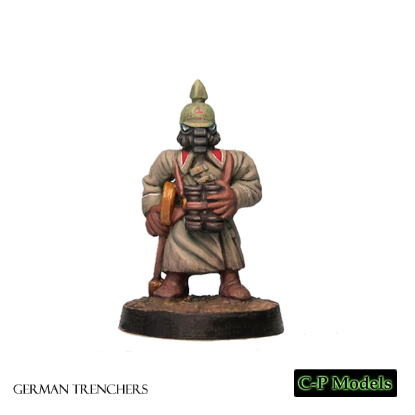 German trencher officer