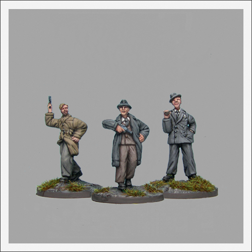 WWII Miscellaneous Figures