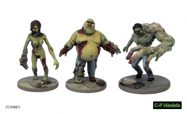 Mutated zombies