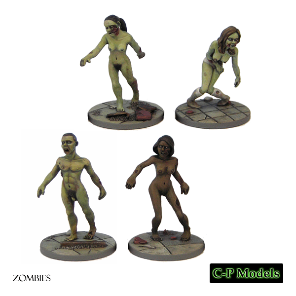 Naked zombies