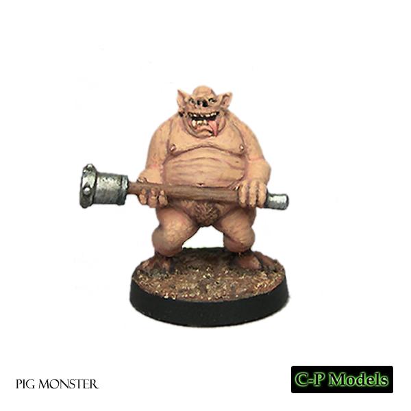 Oriental pig monster
