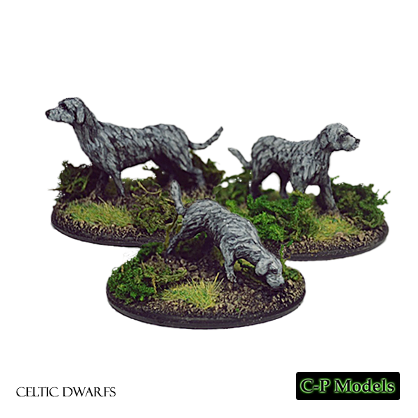 Celtic Dwarf war hounds