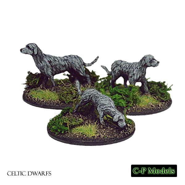 Celtic Dwarf war hounds