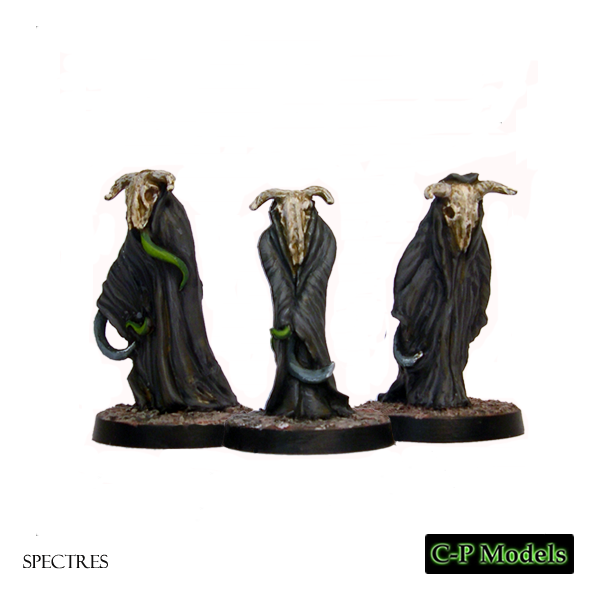 Spectres with scythes