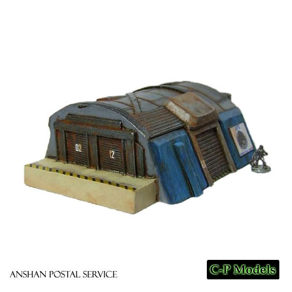 Anshan postal service