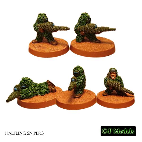 Halfling snipers