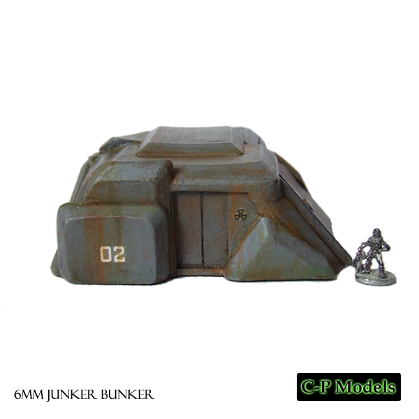 Junker bunker 6mm building