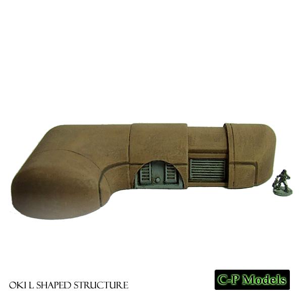 OKI L-shaped unit