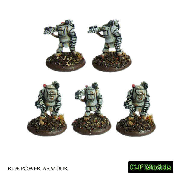 RDF power armour