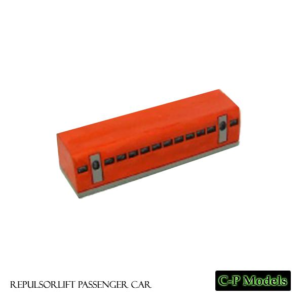 Repulsorlift train passenger car
