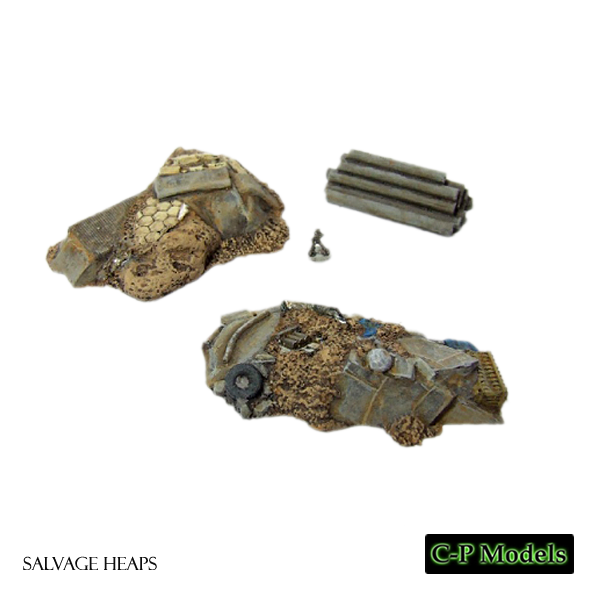 Salvage heaps 6mm terrain