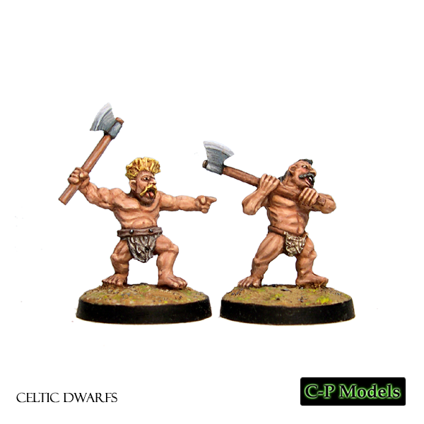 Celtic Dwarf berserkers with axes
