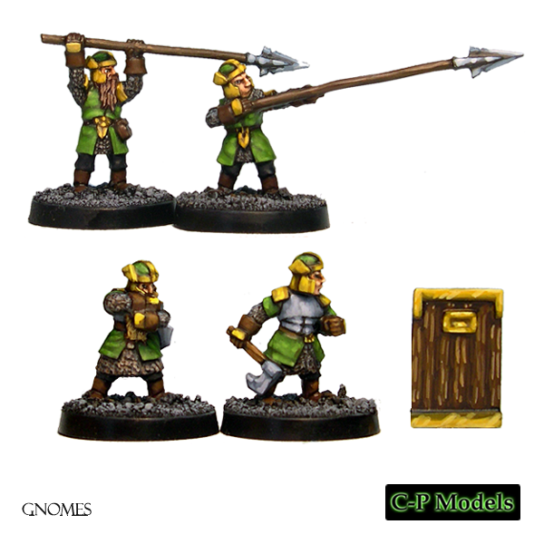 Gnome heavy infantry spears