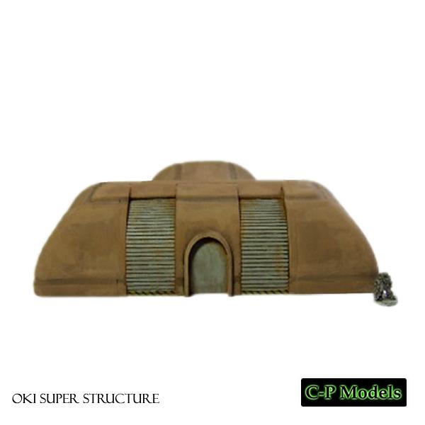 OKI super structure, 6mm building