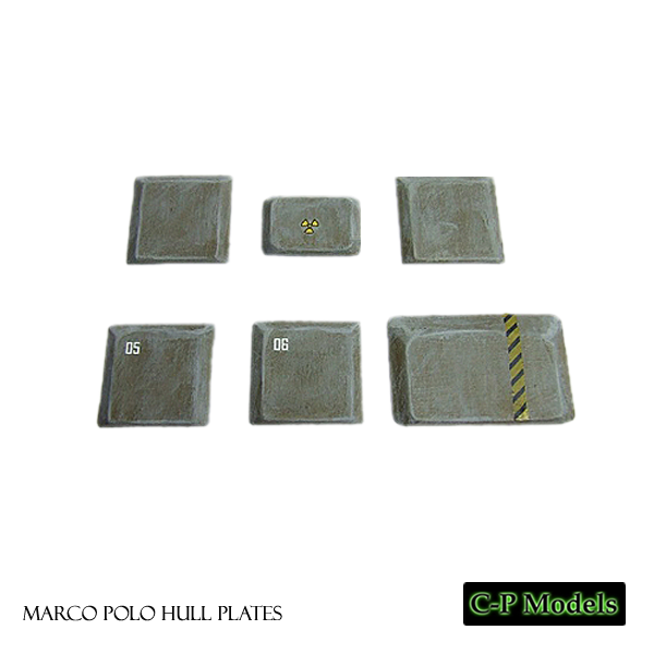 Marco Polo hull plates