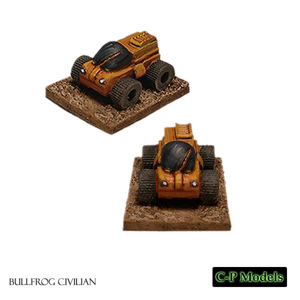 Bullfrog truck civilian