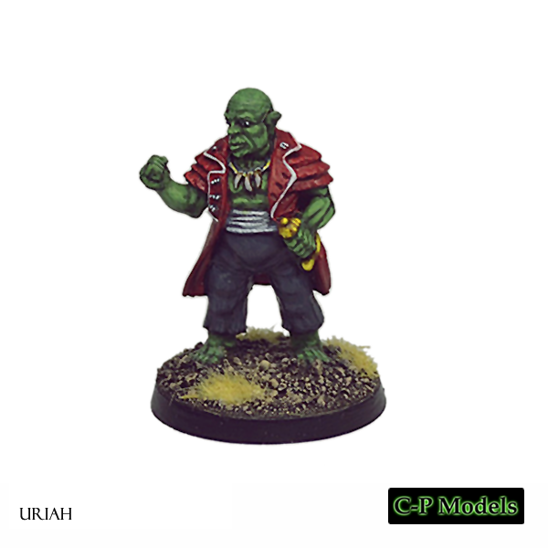 Uriah Orc captain