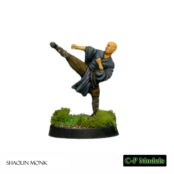 Shaolin Monk kicking
