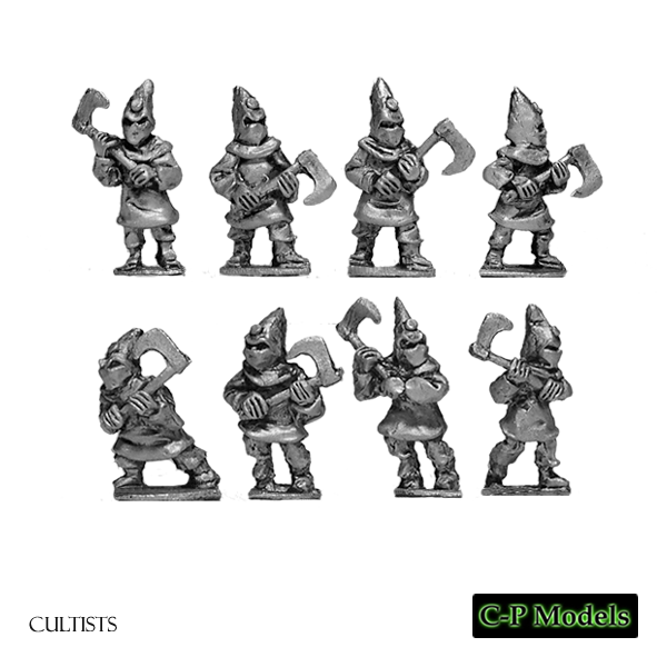 Cultists with axes