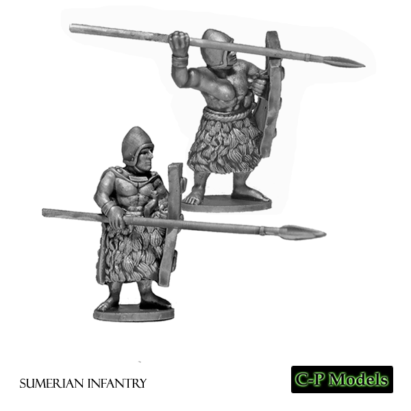 Sumerian infantry advance - attack
