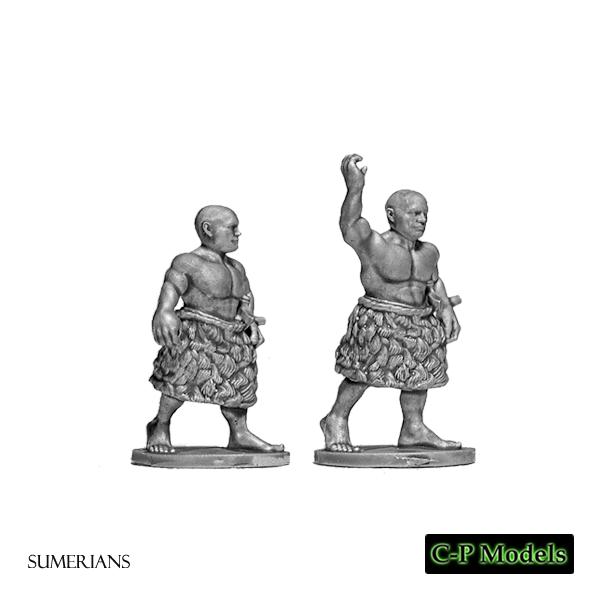 Sumerian javelins