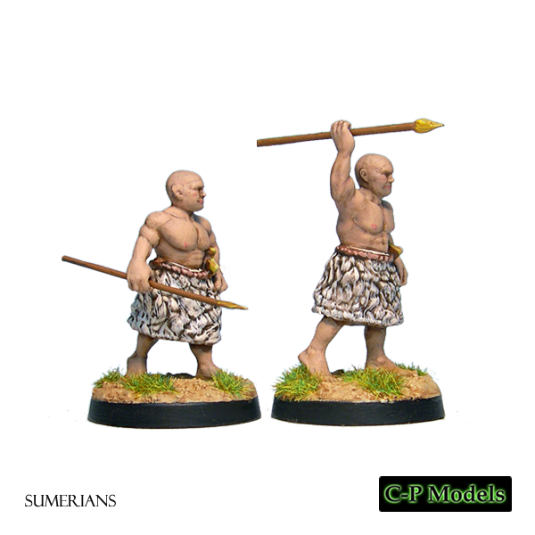 Sumerian javelins 2