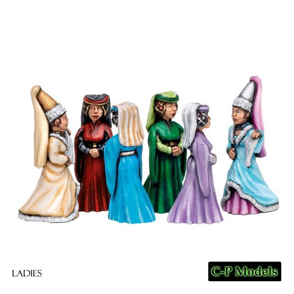 Ladies and princesses