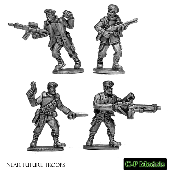Near future troopers