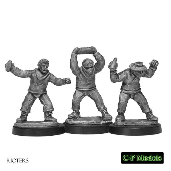 28mm Urban Rioters